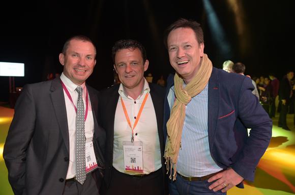 66. Hubert Jaricot (HLJ consultants), Laurent Fiard (Visativ) et Frédéric Giraud (Malls)