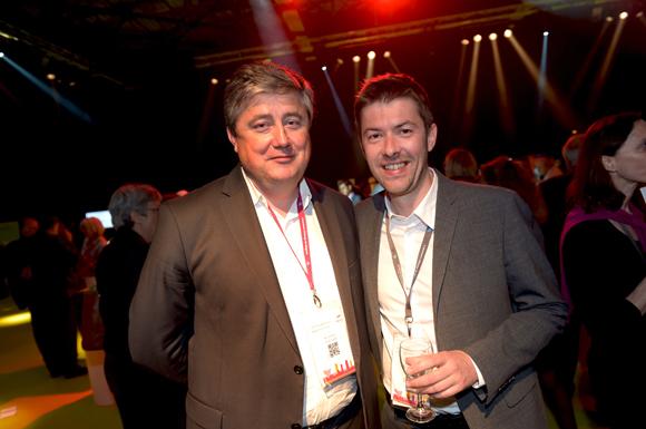 67. Benoit Soury (La Vie Claire) et Yann Féminier (Medef Lyon-Rhône)