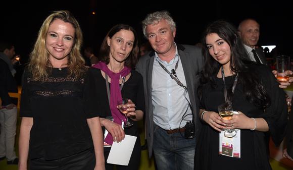 71. Sandra Eysseric, Catherine Capman, Jean-Louis Joly (Medef Lyon Rhône) et Agnès Chorfi