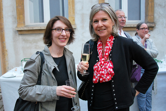 7. Agnès Savart (Artcurial Lyon) et Bérangère Magnin (Musée des Tissus)