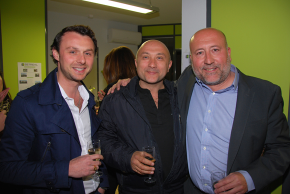 8. Anthony Taboury (Anthony Automobile), Stéphane Andlauer (Actua Circuit de Lyon) et Jean-Luc Remilly (Setreal)