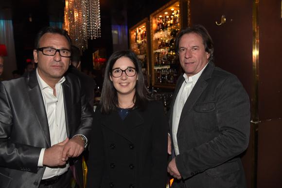 9. Dominique Palumbo (BMW Gauduel), Natacha Delpon (Korloff) et Jean-Luc Marcombe (Salengro Automobiles)