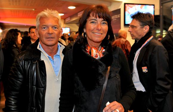 9. Franck Varoclier (Jean-Jaurès Club) et son épouse Fabienne