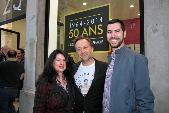 9. Béatrice et Hervé Chuitel (SARL Hervé Chuitel) et Pierre Collange (Pharmacie Bron Genas)