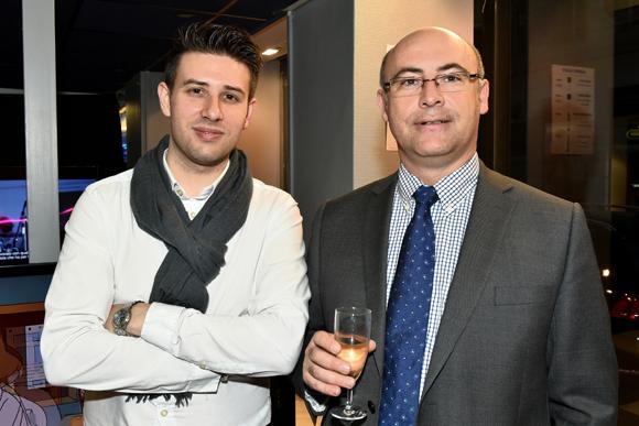 9. Xavier Fize (Tedd connexion) et Christophe Lietot (HSBC)