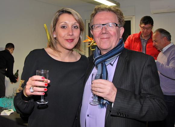9. Magena Moulin (Setreal) et Gérard Gabert (SIP Siège & Décoration)