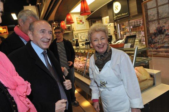 Gérard Collomb après la disparition de Renée Richard. « La gastronomie lyonnaise est en deuil »