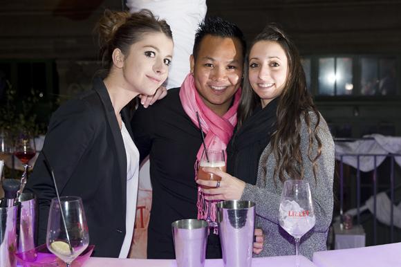 2. Alizée, Nicolas et  Delphine (Ricard)