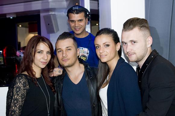 29. DJ Nageh (le boudoir), Soline, Julien, Anne Laure et Alexandre (les Planches)