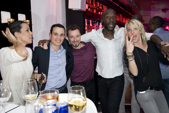 36. Sandrine, Luis (Curis architectes), Joakim, Chris et Estelle