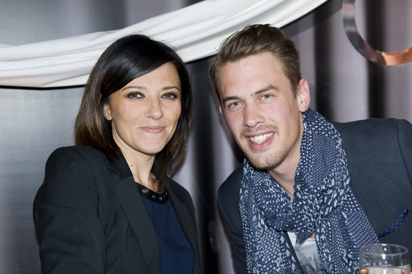 4. Caroline Denoyer (MCS) et Thomas Joly
