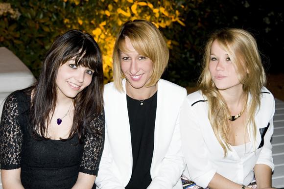 8. Cécile, Zahia et Marion
