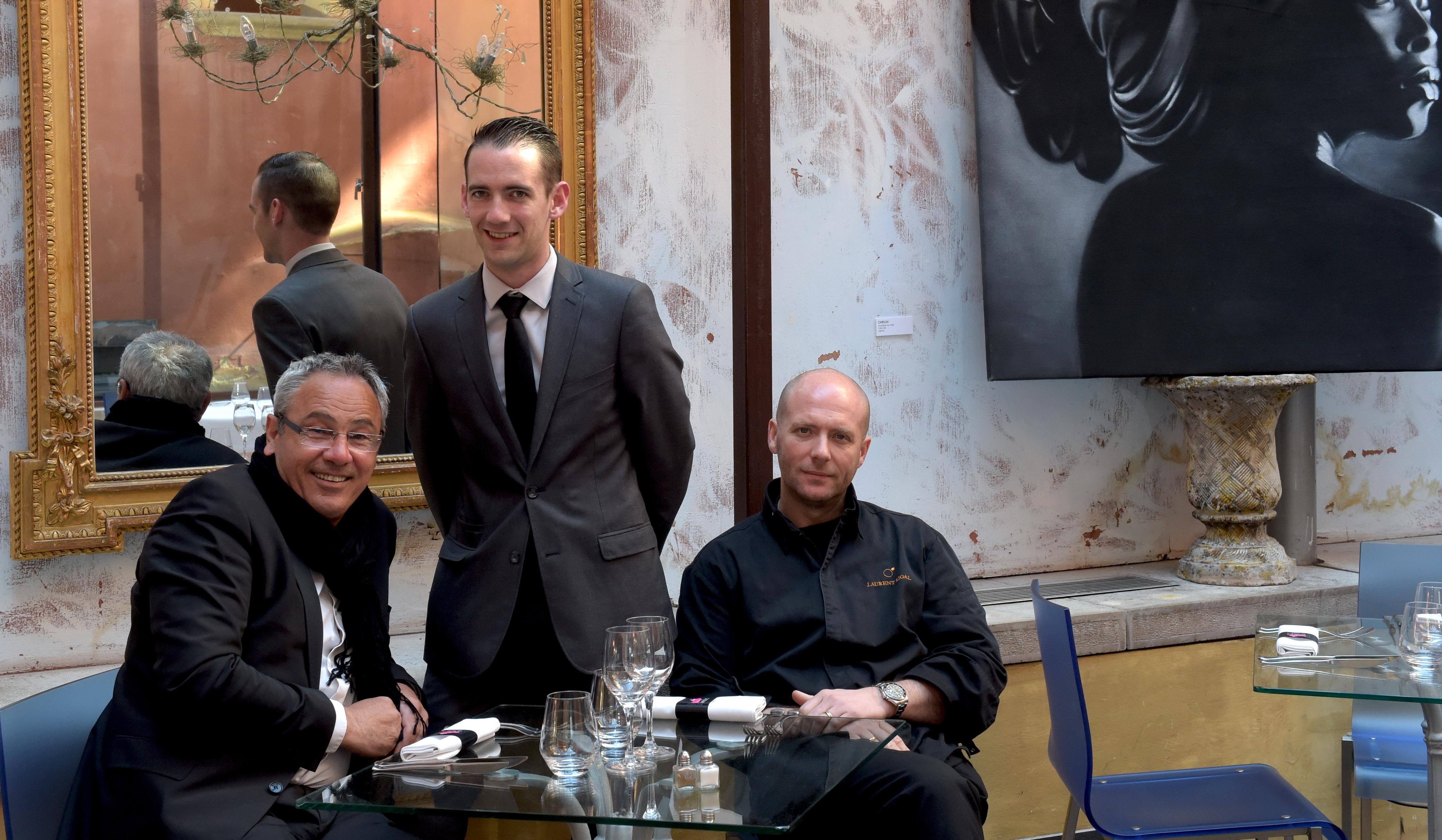 La Tour rose. Le chef étoilé Laurent Rigal signe la nouvelle carte