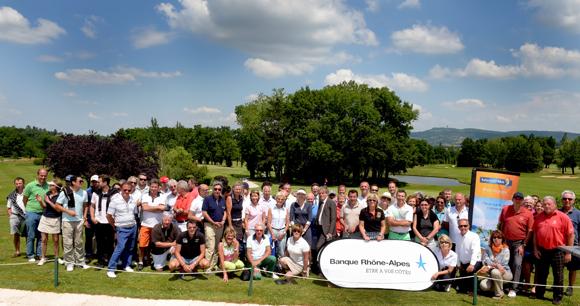 8ème édition du Trophée de golf Banque Rhône-Alpes