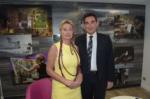 10. Sabine Commaret et Frédéric Panigot (Banque Populaire)