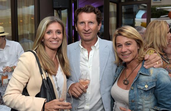 10. Françoise Neubert (Les Yachts de Lyon), Jean-François Bourrec (Brainstorming) et Muriel Ecochard Larréché (Le Progrès)