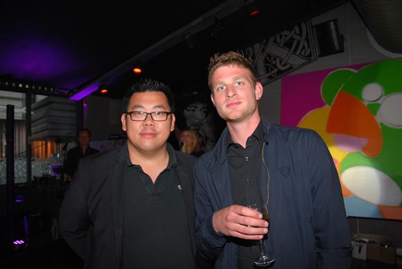 10. Michel Yang (SLCI Promotion) et Simon Boissard (SLCI Promotion)