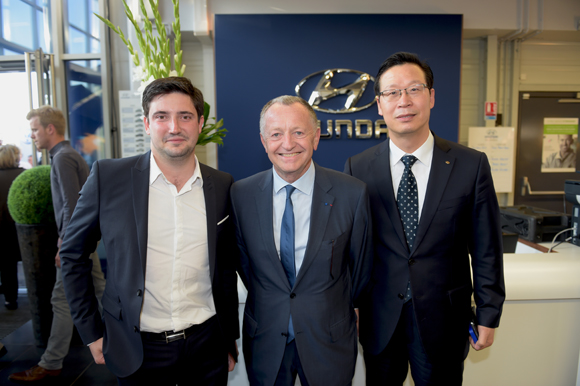 central motor lyon inauguration du showroom hyundai. Black Bedroom Furniture Sets. Home Design Ideas