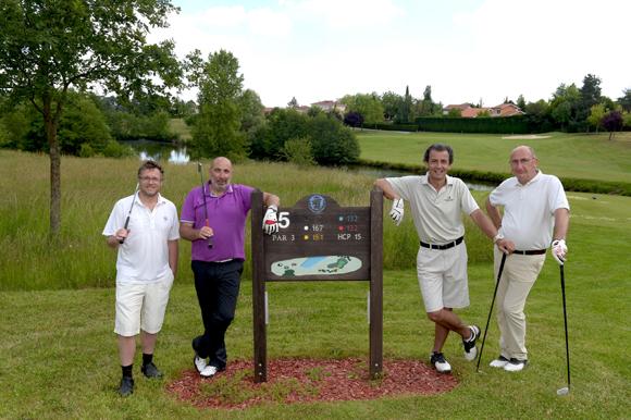 1. Pierre-Albert Perraudin, Eric Bonnefond, Christophe Rizzo et Thierry Leclercq