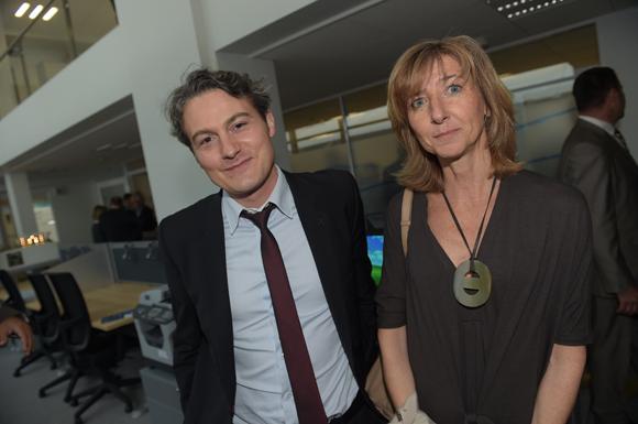 12. Jérôme Galissaire (Banque Populaire) et Sophie Merigot (EHD)