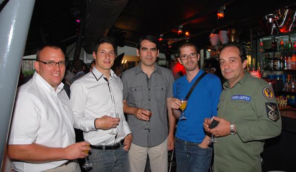 12. Guillaume Jalin (COEG), Florent Guerpillon (COEG), José Silvera (Cabinet Agrega), Raphael Girardot (Cabinet Agrega) et Dalilo Impeciati (Cabinet Agrega)
