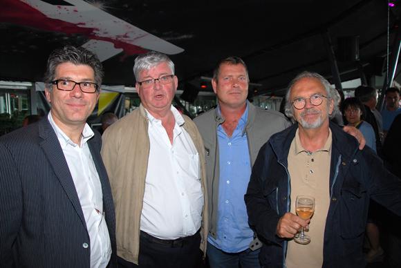 13. Pascal Bertolini (SCOB), Alain Rolle (Rolle), Eric Bernardi (UTPE), et Pierre Fradin (Huissier)