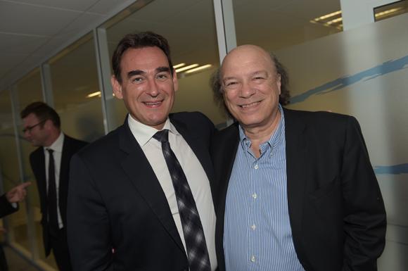 14. Frédéric Panigot (Banque Populaire) et Victor Bosch (Le Radiant)