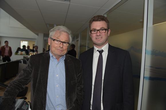 15. Maurice Bettant (Trophée Smart) et Christophe Ducoulombier (Banque Populaire)