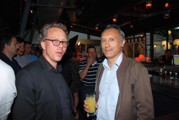 15. Yannick Rolland (Capelli) et Eric Nompeix (Bouygues Immobilier)