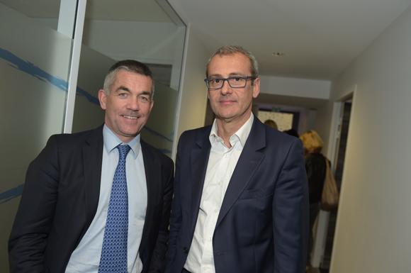 16. Laurent Gelpi (Banque Populaire) et Denis Moin (Groupe Moreau)