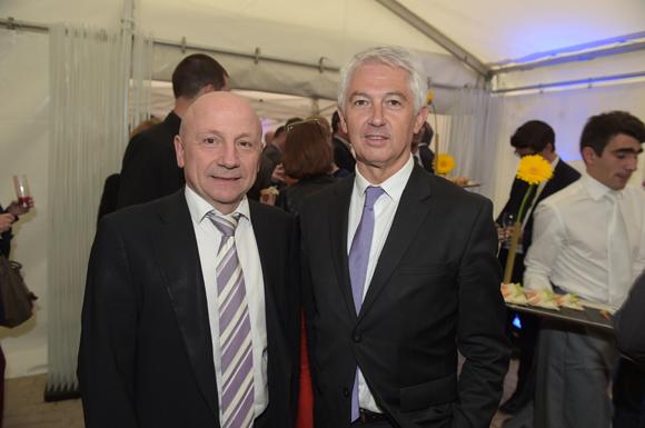 17. Jean-Claude Lassalle (Progrès) et Jean-Pierre Levayer (Banque Populaire)