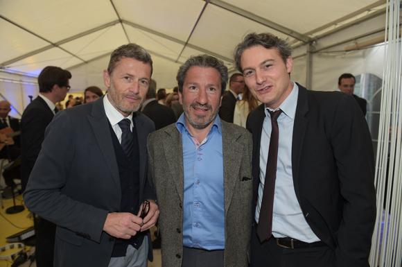 1. Philippe Bettant (Smart Boutique), Pierre Mirailles et Jérôme Galissaire (Banque Populaire)