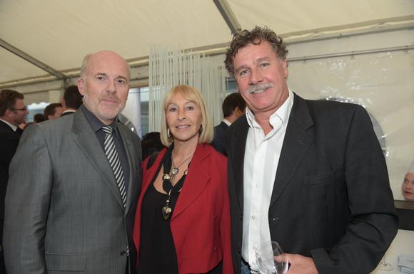 18. Serge Daupeux (Banque Populaire), Marie-Claude Dugard et Robert Vettorato