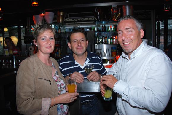 18. Nathalie Fernandes (Serrurerie), François Fernandes et Jean-Marie Dumont (Crédit Agricole Immo)