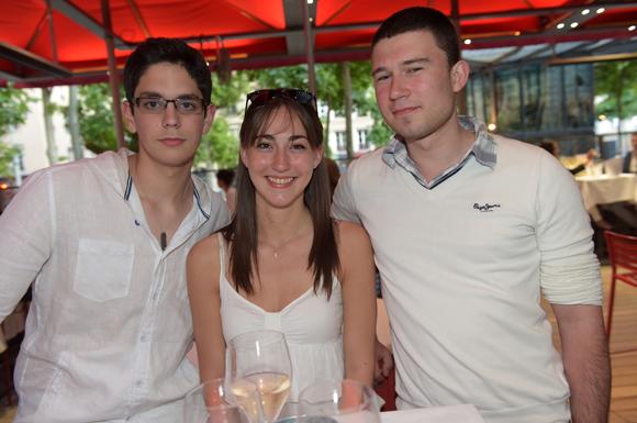 19. Raphaël, Laura et Corentin