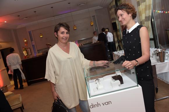 2. Christelle Cimetière (EMC) et Elodie Teston (Dinh Van)