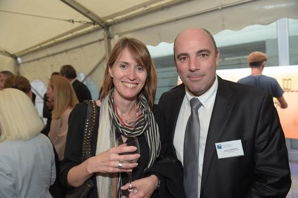 21. Cécile Bonnal et Laurent Gerentes (Banque Populaire)