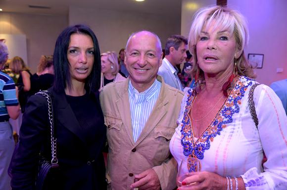 21. Karine Fontaine (Sotheby's Realty), l'horloger Jean-Louis Maier et Ghislaine Mérieux