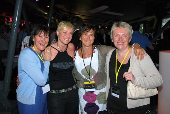 21. Patricia Jacquet, Sandra Poupée (Artebat), Ghislaine Zaco-Chazalette et Valérie Denis