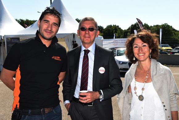 2. David Raffin (Actua), Alain Blouzard (Groupe Delorme) et Dominique Nauche (TNT)