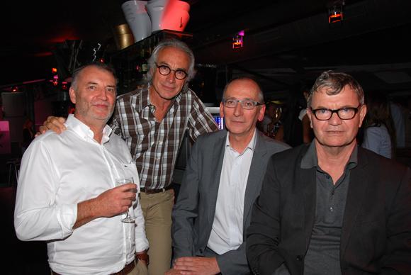 23. Christian Couche (OGIC), l'architecte Gabriel Greiss (Agrega), Philippe Lavigne (SLC) et Alain Rolle (Rolle)