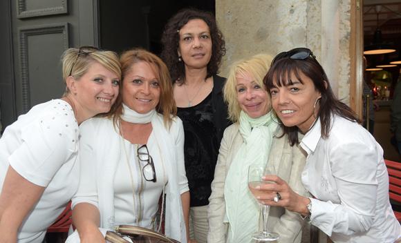 23. Sandrine, Annunziata, Anita, Martine et Marie