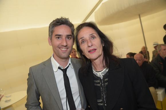 24. Anthony Dupouy (Cabinet Actifs & Associés) et Sylvie Prot (Héritage rive gauche)