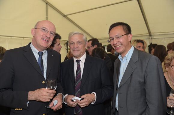 25. Marc Giroud (Patricola), Henri Brunet-Lecomte (Logivin) et Sébastien Bonte (Angelor)