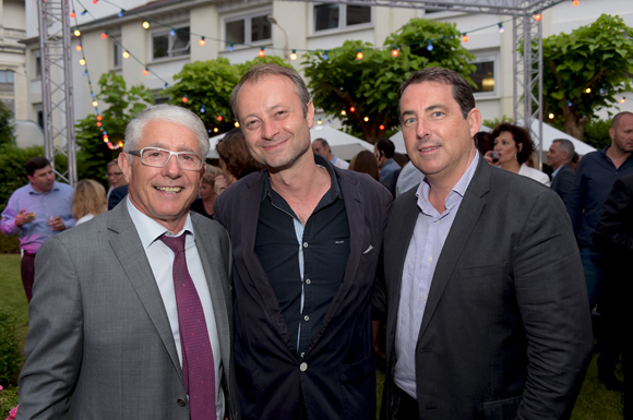 25. Elie Cunat, DG du Groupe Gauduel, Marco (Lyon People) et Jacques Marcout (Prisme Consulting)