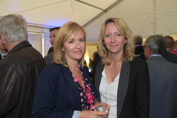 26. Nathalie Lafite (Banque Populaire) et Isabelle Darnault (C. Gastronomie)