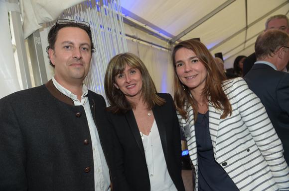 27. Aldo Peaucelle (Art & Patrimoine conseil), Sandrine Roussarie et Valérie  Escot (Banque Populaire)