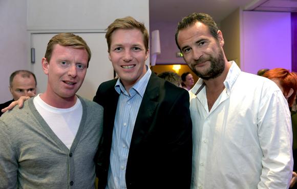 27. Benjamin Lavorel, Alexandre Jeannerod (Eurosono) et Wilfried (Gioia V.I.P Room Paris/St Tropez)