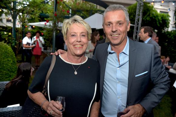 29. Carole Dufour (Idées en Tête) et Philippe Montanay (Maniac Média)