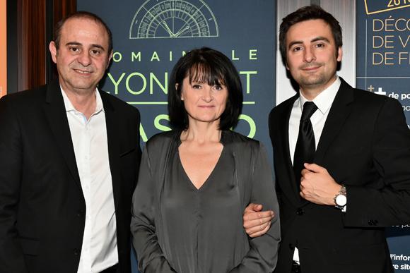 3. Pierre Jean Merli, Cathy Merli (Directrice du Casino Le Lyon Vert) et Charles Le Roy